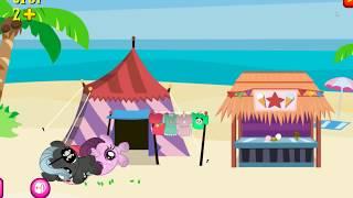 Бешенные ножницы. Карманная пони 2.Мультик игра для детей My little pony  дружба это чудо