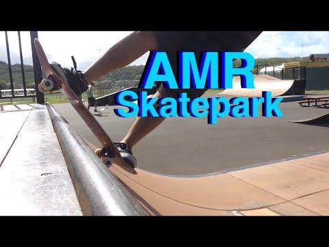 AMR Skatepark Hawaii   Mini Ramp   Skate Vlog   Skate Hawaii
