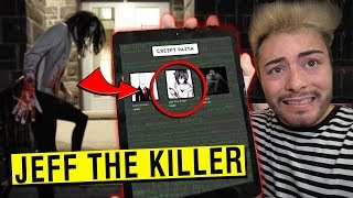 WE BOUGHT JEFF THE KILLER OFF THE DARK WEB!! (VERY SCARY)