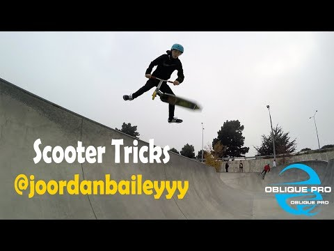 Scooter Tricks by @joordanbaileyyy