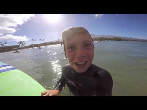 tandem surfing maui