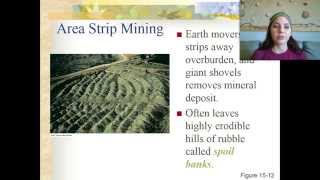 Nonrenewable Resources and Mining