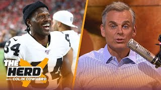 Raiders are set up to fail, Colin talks Cowboys & why Jimmy G's contract is smart | NFL | THE HERD