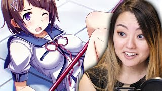 GIRLFRIEND REACTS TO ADULT GAMES