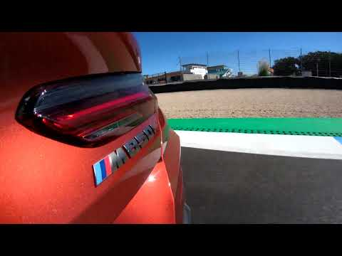 The New BMW 8 Series Coupe On The Track   Mounted Camera