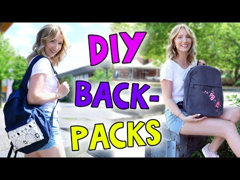 PIMP DEINEN RUCKSACK! DIY BACK TO SCHOOL BACKPACKS - TheBeauty2go