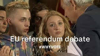 EU referendum debate: will young people turn out to vote?