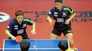 World Tour Grand Finals Highlights: Gao Ning/Li Hu vs Kim Min Seok/Seo Hyundeok (1/2 Final)
