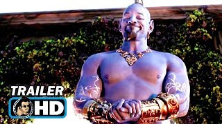 "ALADDIN ""A Whole New World"" Trailer (2019) Will Smith Disney"