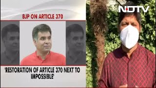 Kashmir Politicians Day-Dreaming, Restoration Of Article 370 Impossible: BJP  IMAGES, GIF, ANIMATED GIF, WALLPAPER, STICKER FOR WHATSAPP & FACEBOOK