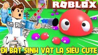Roblox | ĐI BẮT SINH VẬT LẠ SIÊU CUTE XÂM CHIẾM TRÁI ĐẤT - BLOB Simulator (Code) | KiA Phạm