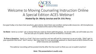 Moving Counseling Instruction Online - 3 of 4