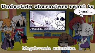 """Papyrus, Asgore, Undyne, Toriel and Frisk react to """"Megalovania Animation"""""""