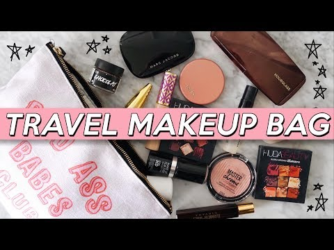 ✈️ WHAT'S IN MY TRAVEL MAKEUP BAG! (AVOID Overpacking!) | Jamie Paige