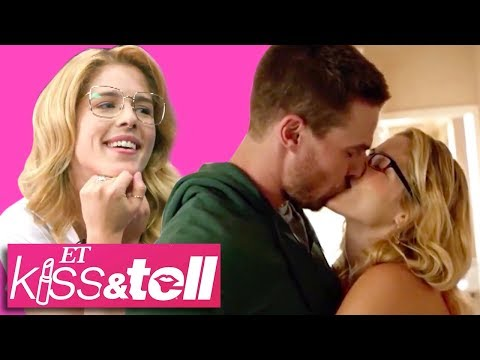 Download Arrow Star Emily Bett Rickards Reacts To Iconic Olicity Kisses! (Exclusive) HD Mp4 3GP Video and MP3