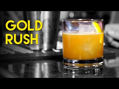 Gold Rush Cocktail with Knob Creek 120
