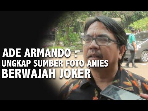 Ade Armando Ungkap Sumber Meme Anies Berwajah Joker