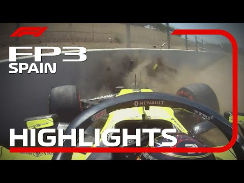 F1 2020 第6戦スペインGP(カタルニアサーキット)フリープラクティス3ハイライト動画