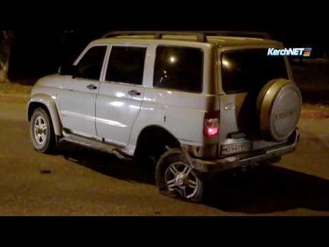 Как лопнувшее колесо стало причиной аварии