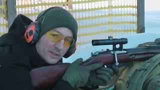 СВД против Мосинки - что точней? Стрельба на 250м. SVD rifle vs Mosin-Nagant rifle.