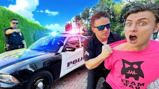 LAST TO GET ARRESTED WINS!! (REAL COPS)