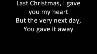 Wham - Last Christmas (with lyrics :D)