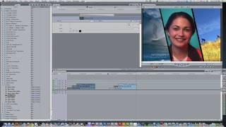 Final Cut Pro Tutorial #1:Diagonal Split Screen Effect
