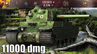 Type 5 Heavy МАСТЕР на фугасах 11000 dmg 🌟🌟🌟 карта: Рыбацкая бухта World o Tanks лучший бой