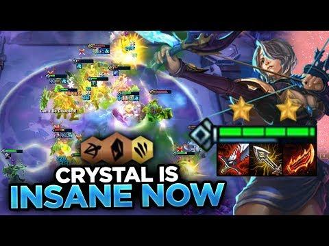 THEY BUFFED CRYSTAL! ASHE IS FINALLY GOOD! | Teamfight Tactics PBE