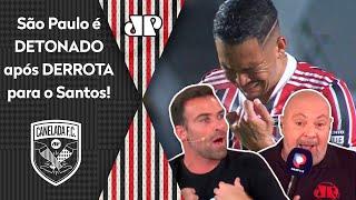 'É ridículo o que o São Paulo está jogando'; veja debate após o 2 a 0 do Santos