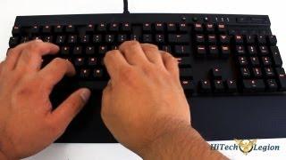 Corsair Vengeance K70 Keyboard Unboxing + Review