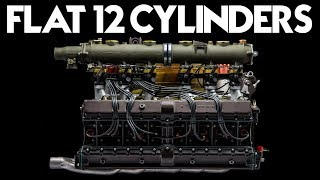 The Only 10 Flat-12 Engines Ever