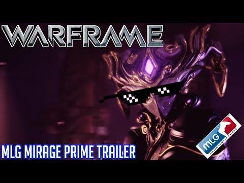 Warframe | MLG Mirage Prime Trailer