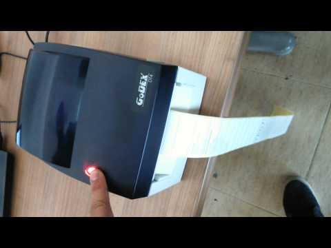 Reset de impresora GODEX
