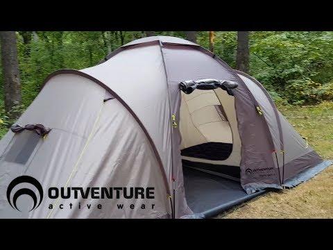 Обзор палатки Outventure twin sky 4