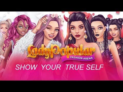 Angels vs. Demons in Lady Popular