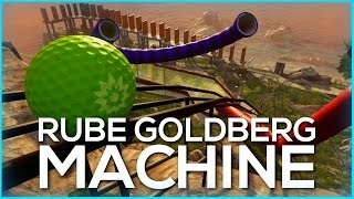 Rube Goldberg Machine | Halo 5 Forge Maps