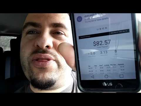 My First Day Driving Uber -  Day One As An Uber Driver