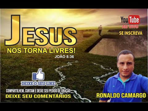 Jesus nos torna LIVRES!!! - Mensagem Palavra de Deus