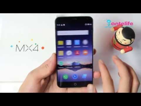 Meizu MX4 LTE 4G Smartphone Flyme 4.0 (Android OS 4.4) Review