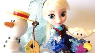 Игровой набор кукла Эльза в чемоданчике Disney от компании detitoys - видео