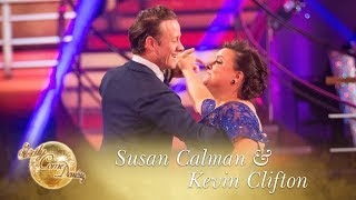 Susan & Kevin American Smooth to 'Beyond the Sea' by Bobby Darin - Strictly Come Dancing 2017