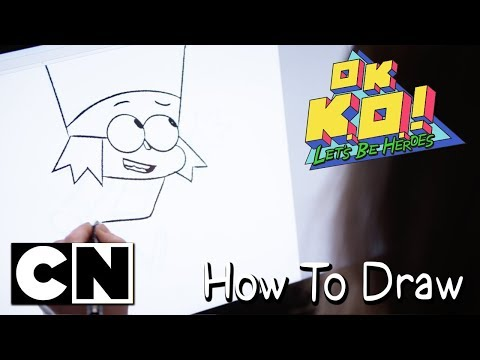 OK K.O.! Let's Be Heroes | How To Draw: K.O.