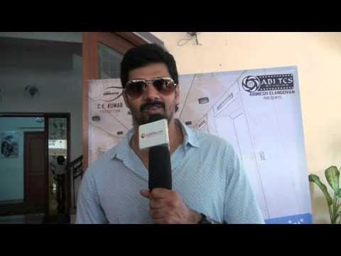 Hero Naveen Chandra at Sarabham Exclusive Interview