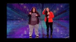 BRITAIN'S GOT TALENT 2012 - CHARLOTTE AND JONATHAN AUDITION (FULL VERSION)