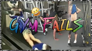 NEW Funny Gym Fail Compilation