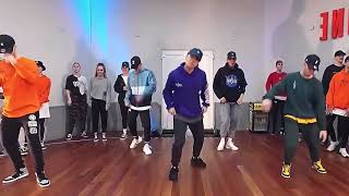 """Dopebwoy """"CARTIER"""" Choreo By  Duc Anh Tran  (mirrored And Slowmo)"""