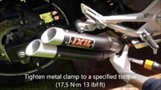 Honda NC 700 750 S/X DCT Step By Step Installation IXIL L3X Hyperlow With Torque Wrench & Sound Test