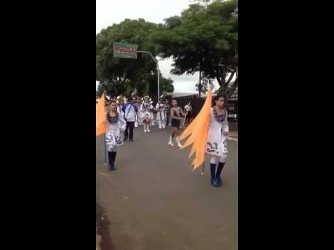 Banda marcial em Ubirajara