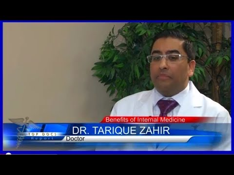 Video Fairfax Internal Medicine - Dr. Tarique Zahir Featured on TOP Doctors Interviews